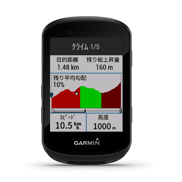 Garmin EDGE 530J/830J Reservation
