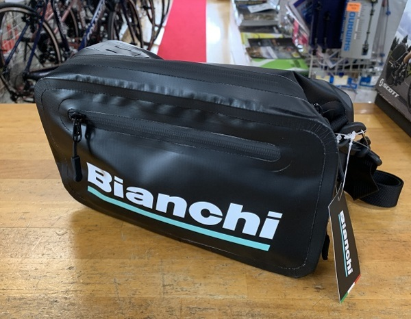 Bianchi Rubber 2 Way Shoulder Bag
