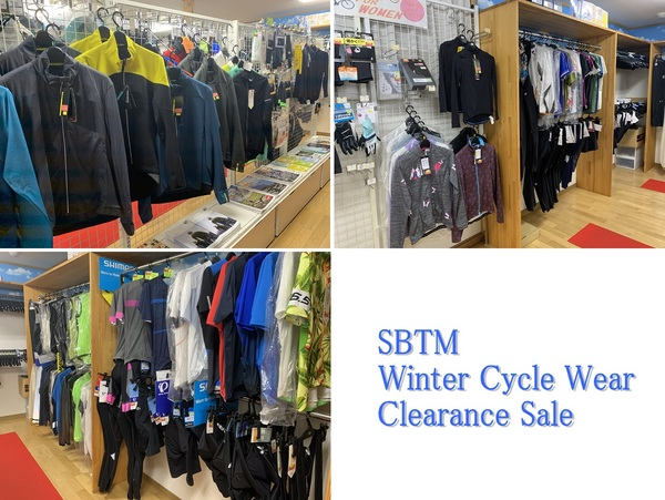 SBTM Winter Cycle Wear Clearance Sale