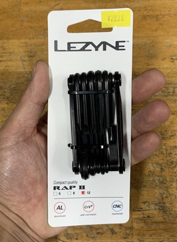 LEZYNE RAPⅡTOOL12