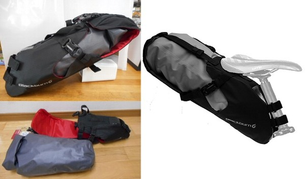 Blackburrn OUTPOST SEAT PACK With DryBag
